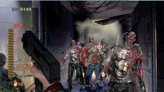 House of the Dead, top sparatutto