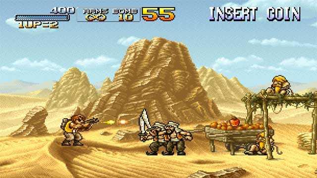 Metal Slug uno dei giochi top sparatutto per console e pc