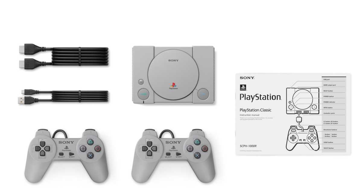 Playstation Classic line up completa