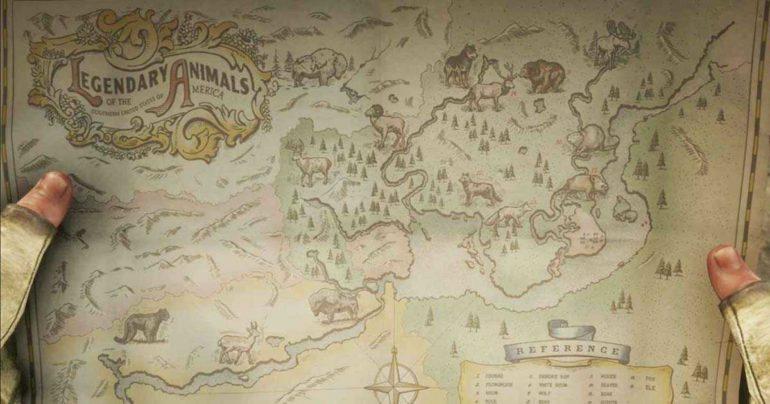 Dove trovare i 15 animali leggendari di Rede Dead Redemption 2
