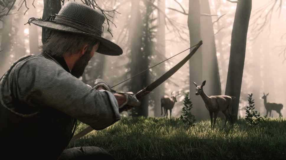 come cacciare animali in red dead redemption 2