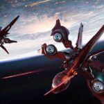 Star Citizen nave spaziale rossa