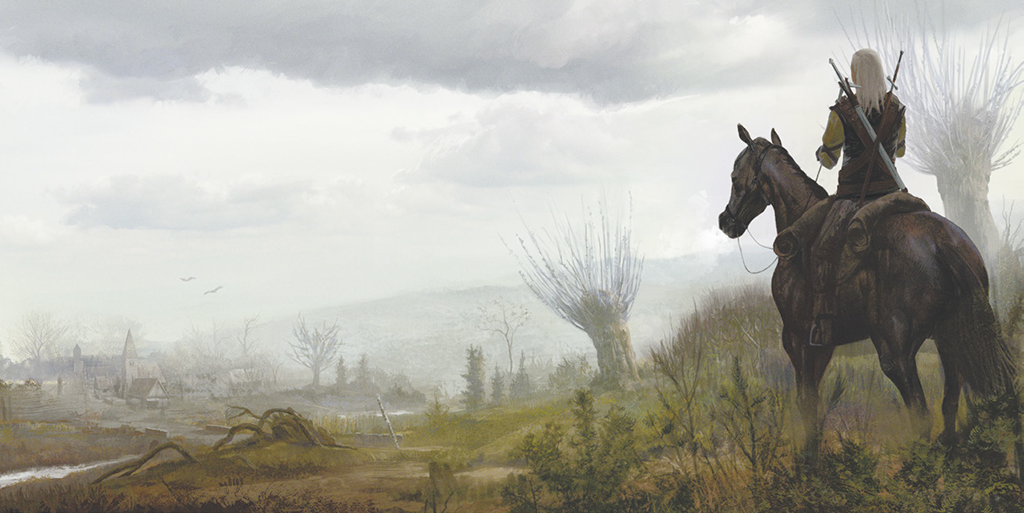 the witcher, panorama, fantasy
