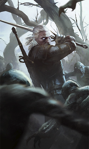 The witcher, fantasy