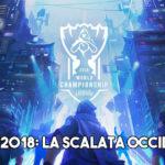 Worlds 2018 occidentale, team europei league of legends, lol, squadrea finali di league of legends, mondiali di league of legends,