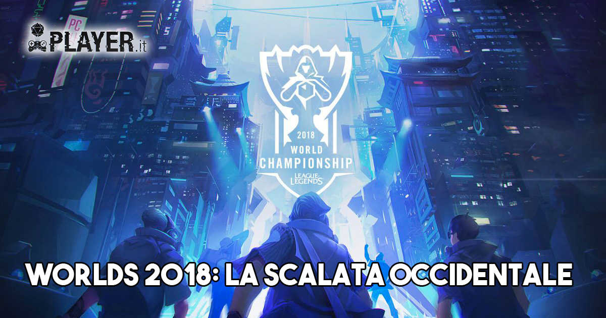 Worlds 2018 occidentale, team europei league of legends, lol, squadrea finali di league of legends, mondiali di league of legends,