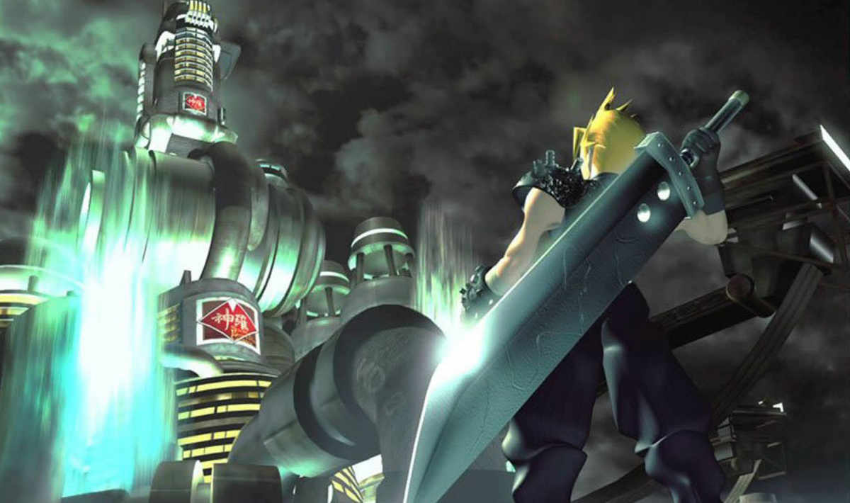 Final Fantasy VII playstation 1 Cloud