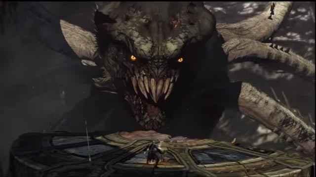 La furia Alecto si trasforma in Cariddi in God of War: Ascension