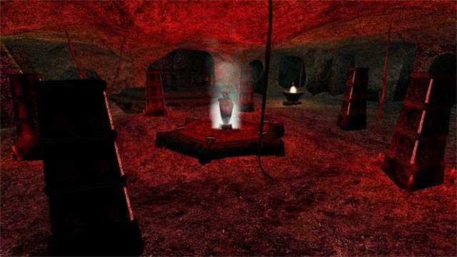 Altare della Sesta Casa in Morrowind, statua fumante della Sesta Casa in Morrowind, perché la statua della Sesta Casa fuma