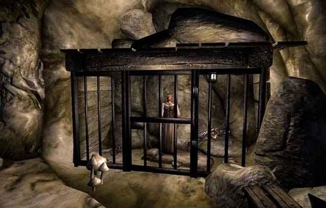 La prigioniera dei Brethren di Hackdirt in Oblivion