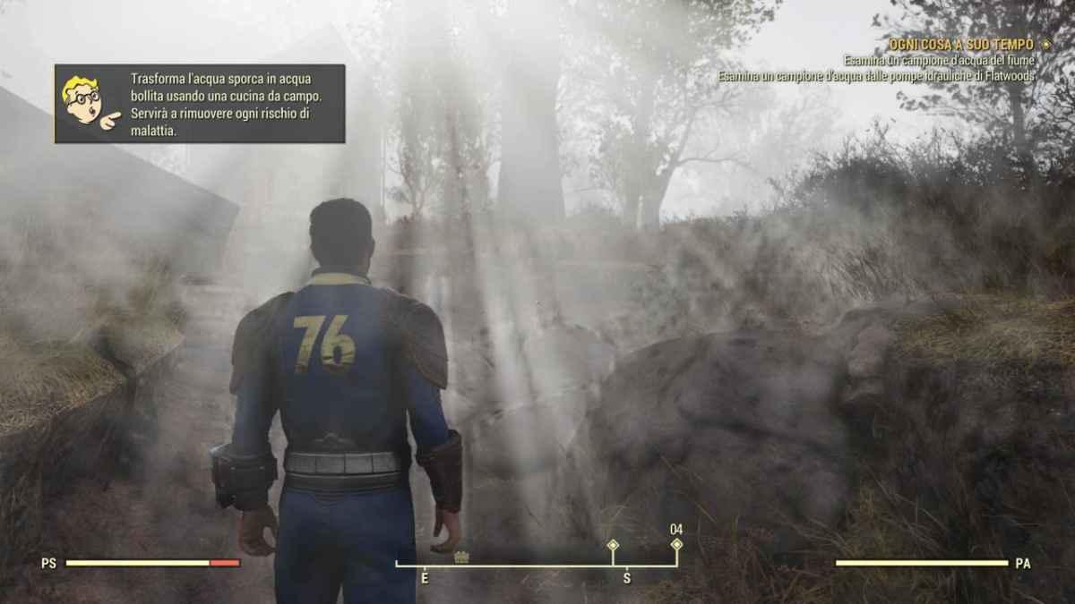 Fallout 76 ottima grafica