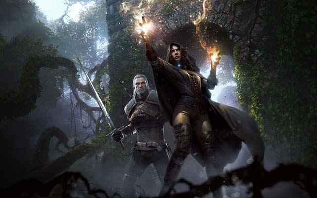 Geralt di Rivia e la maga Yennefer, romance tra Geralt e Yennefer, romance canonica di Geralt in The Witcher 3