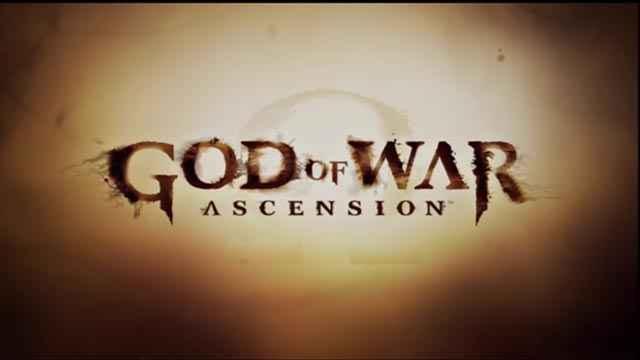 Lo splash screen di God of War: Ascension