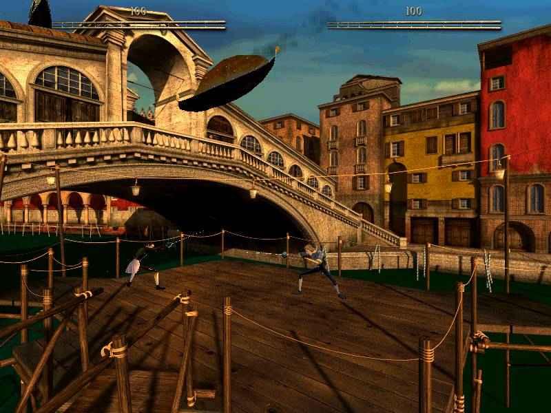 Italy&Videogames, Casanova il duello della Rosa Nera - Ponte di Rialto