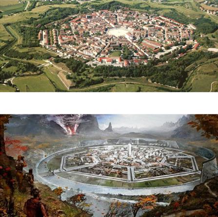 Italy&Videogames Gears of War 4 - Città-Fortezza di Palmanova