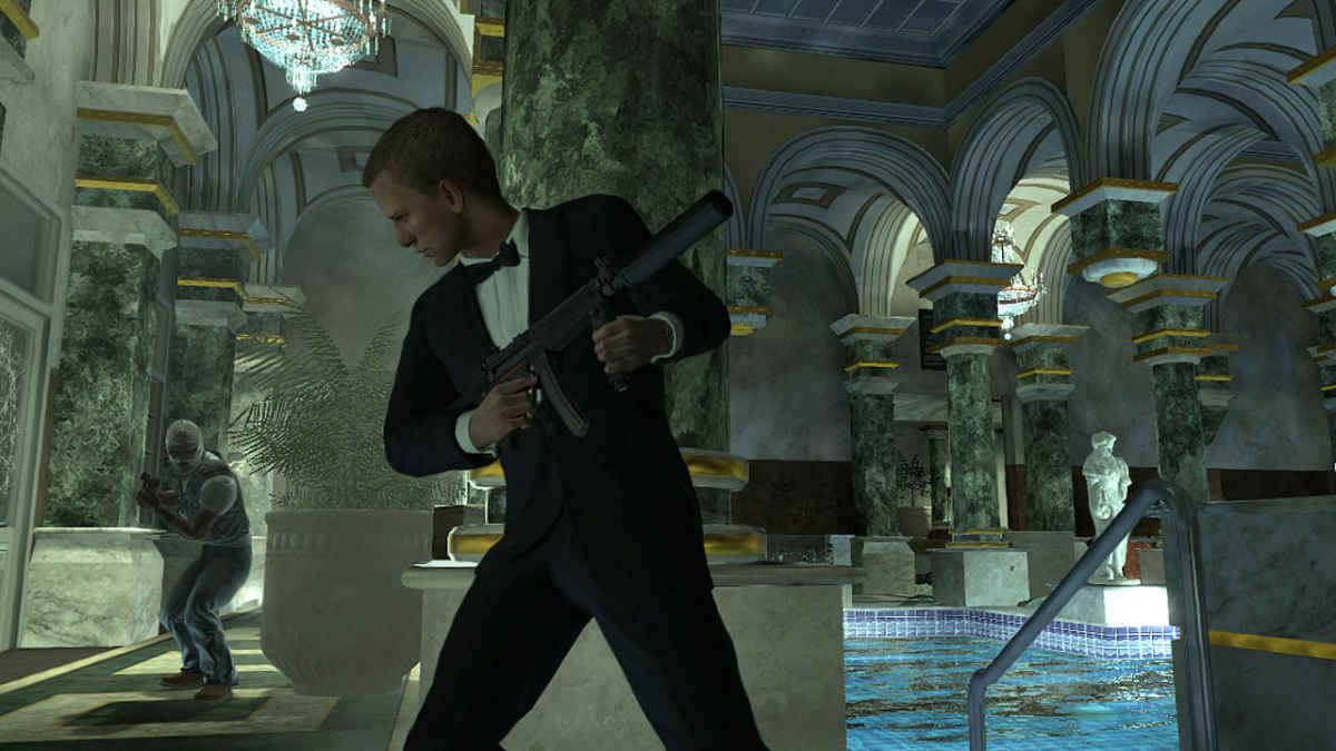 Italy&Videogames - James Bond Quantum of Solace - Piscina