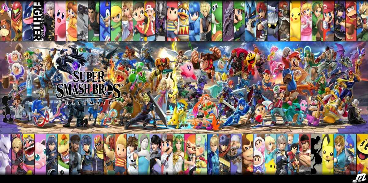 Roster completo di Super Smash Bros Ultimate