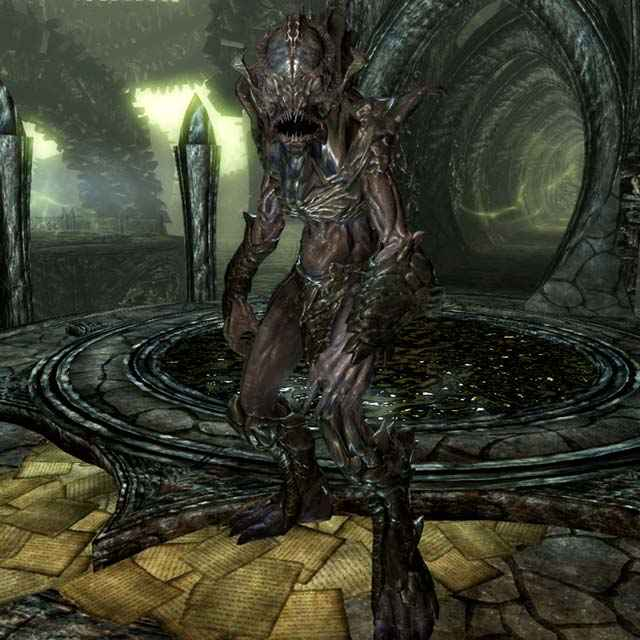 Come appaiono i Lurker in Skyrim: Dragonborn