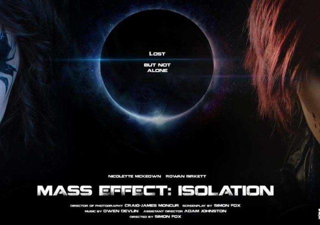 Mass Effect: Isolation, fan film Mass Effect, cosplay Mass Effect, uscita Mass Effect Isolation, quando esce Mass Effect Isolation