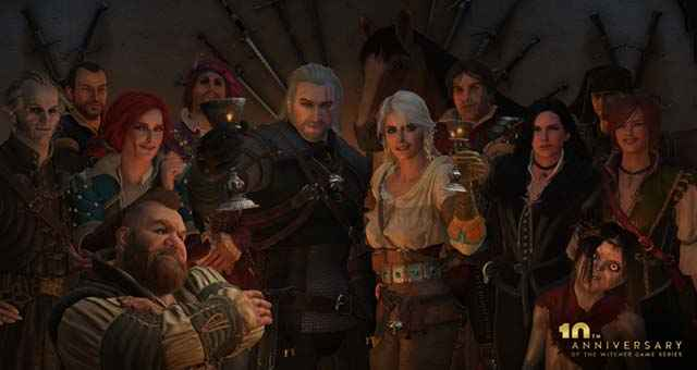 Anniversario di The Witcher 3, i personaggi di The Witcher 3, i protagonisti della saga di The Witcher