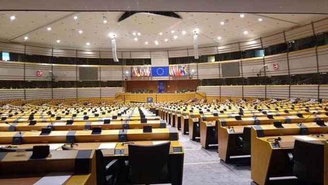 Una riunione del Parlamento Europeo