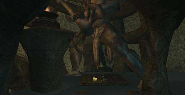 Panorami non euclidei in Morrowind, geometria non euclidea, sotterranei di Morrowind, sotterranei della Sesta Casa, sotterranei di Dagoth Ur