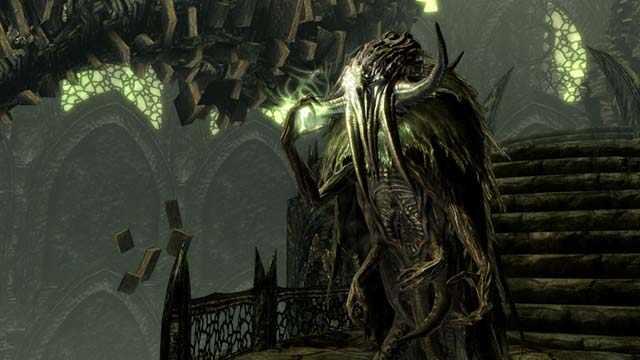 Seeker di Skyrim, Cercatori di Skyrim, Evoca Cercatore in Skyrim, come evocare un Cercatore in Skyrim, come evocare un Seeker in Skyrim, Dormienti Ascesi e Cercatori, Ascended Sleeper e Seeker