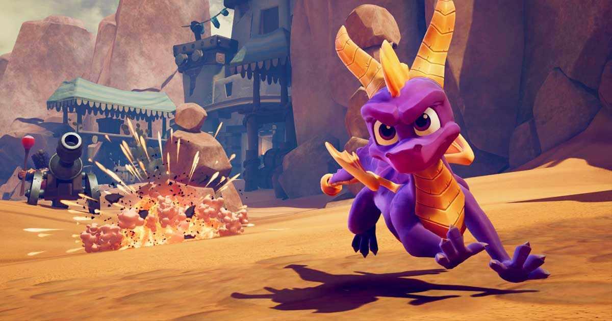Spyro reignited trilogy nuovi scatti dal mondo dei pacificatori