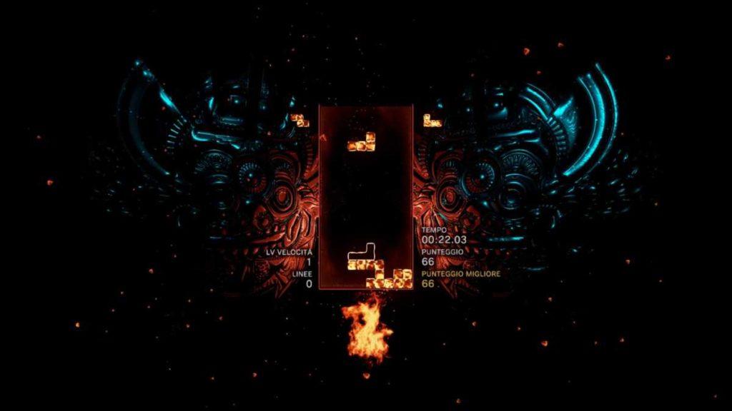 tetris effect è una versione moderna del vecchio Tetris
