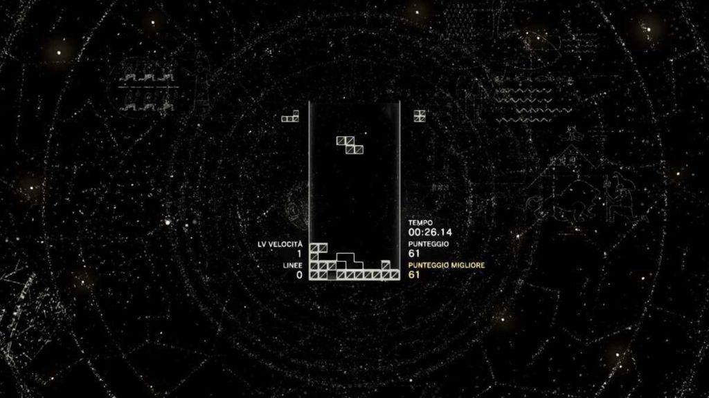 tetris effect ha diversi scenari per ogni livello