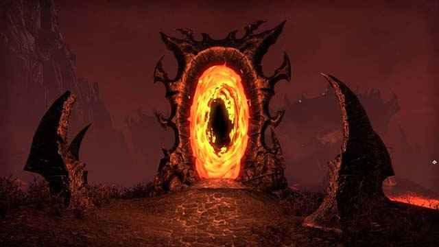 The Elder Scrolls Oblivion, cancello di Oblivion