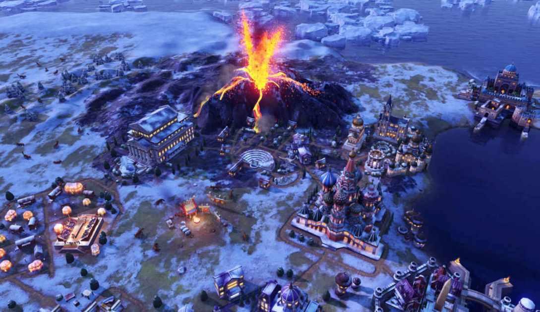 Civilization 6 videogame screenshot