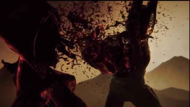 Urano colpisce Nemesi in God of War: Ascension, e dal suo sangue nasceranno le Furie - Erinni