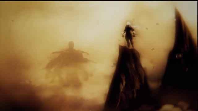 Zeus stringe un patto con il Centimane Briareo in God of War Ascensione
