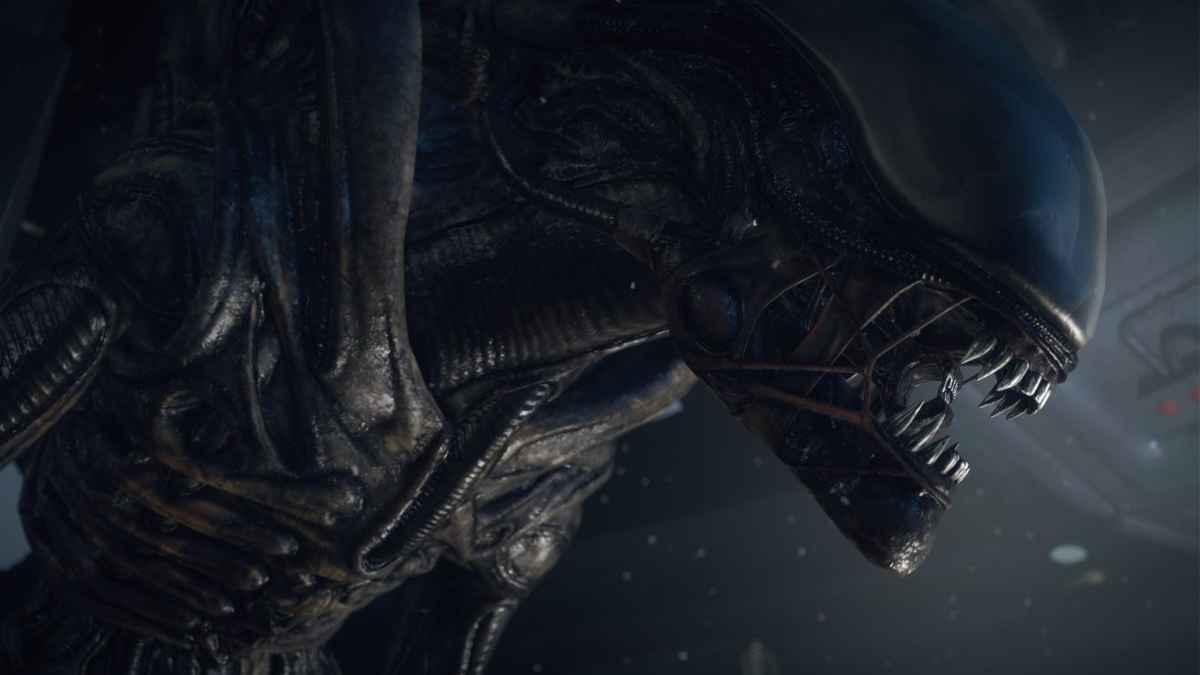 Primo piano di un Alien