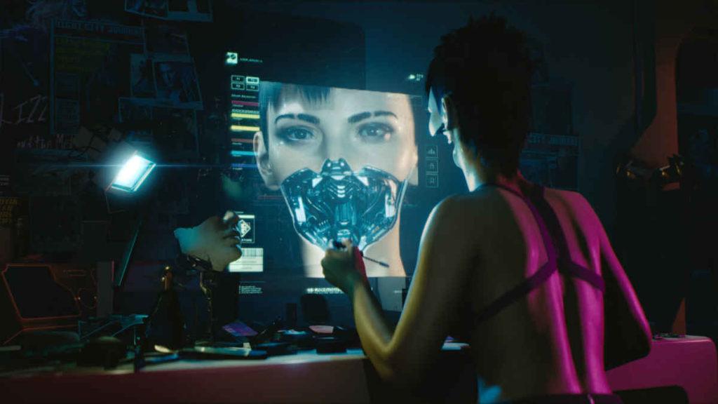 uno screen di cyberpunk 2077