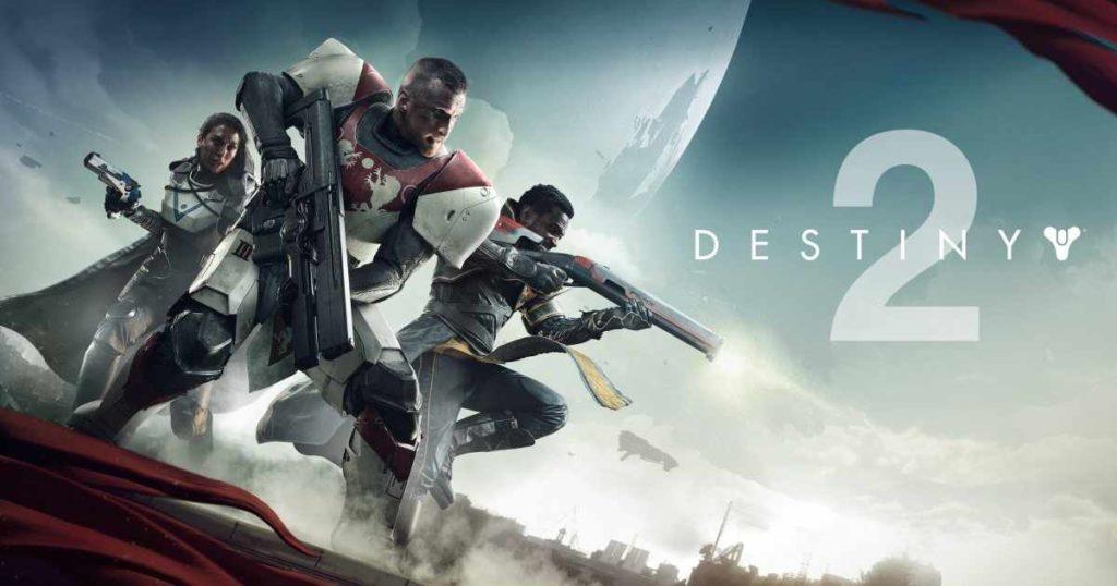 La copertina di Destiny 2