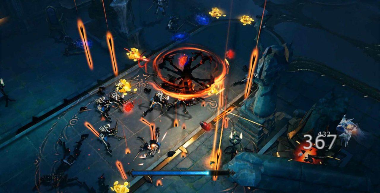 Screenshot dal trailer di annuncio di Diablo Immortal