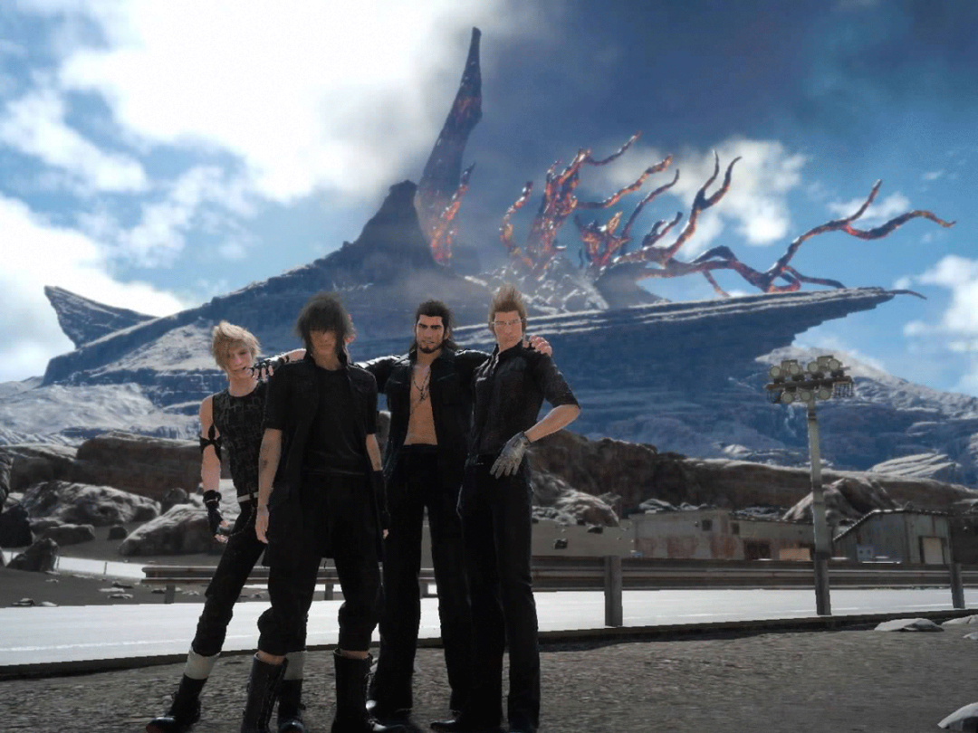 Final Fantasy XV screenshot main characters