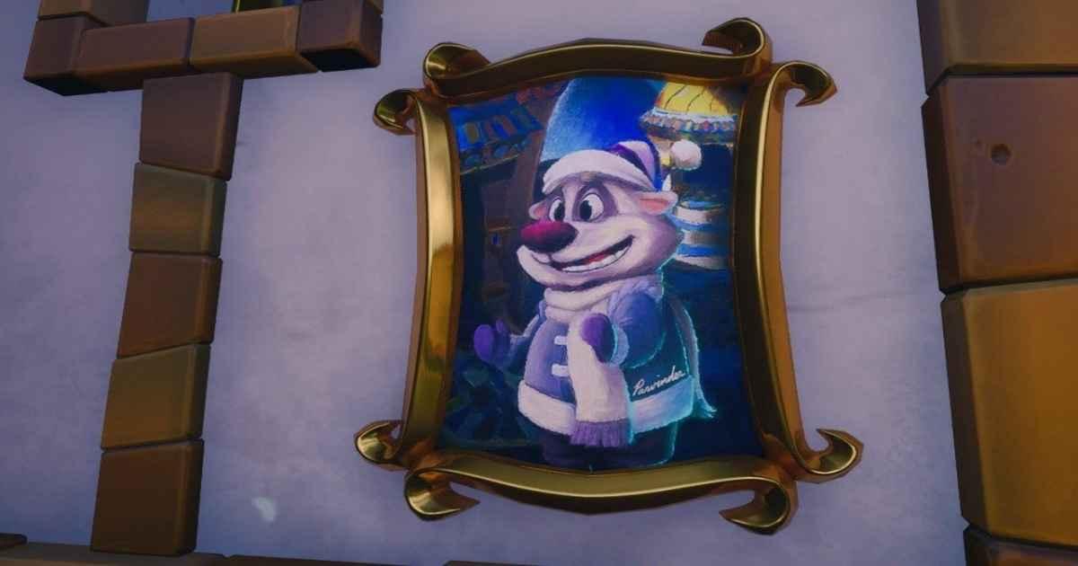 Screenshot che ritrae il commovente Easter Egg su Spyro Reignited Trilogy