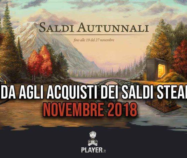 Saldi Steam Novembre 2018 Copertina della guida
