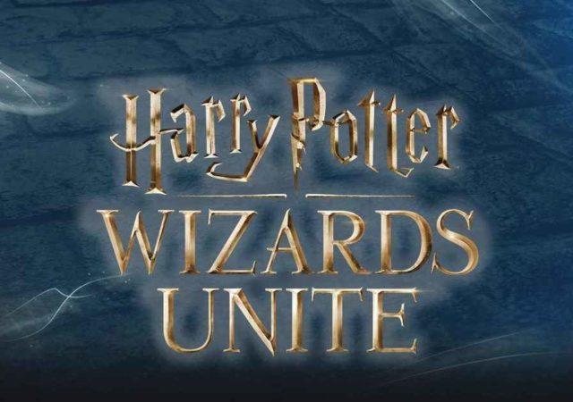 Harry Potter Wizards Unite immagine copertina con logo ufficiale