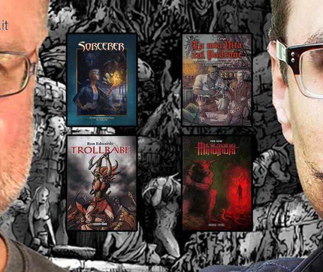 Ron Edwards e Paul Czege, due dei più influenti game designer di giochi di ruolo indipendenti, erano ospiti al Lucca Comics 2018, e li abbiamo intervistati.