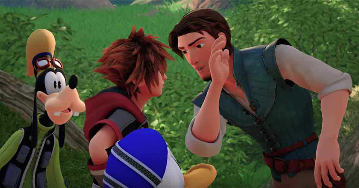 Kingdom Hearts 3 trailer lucca