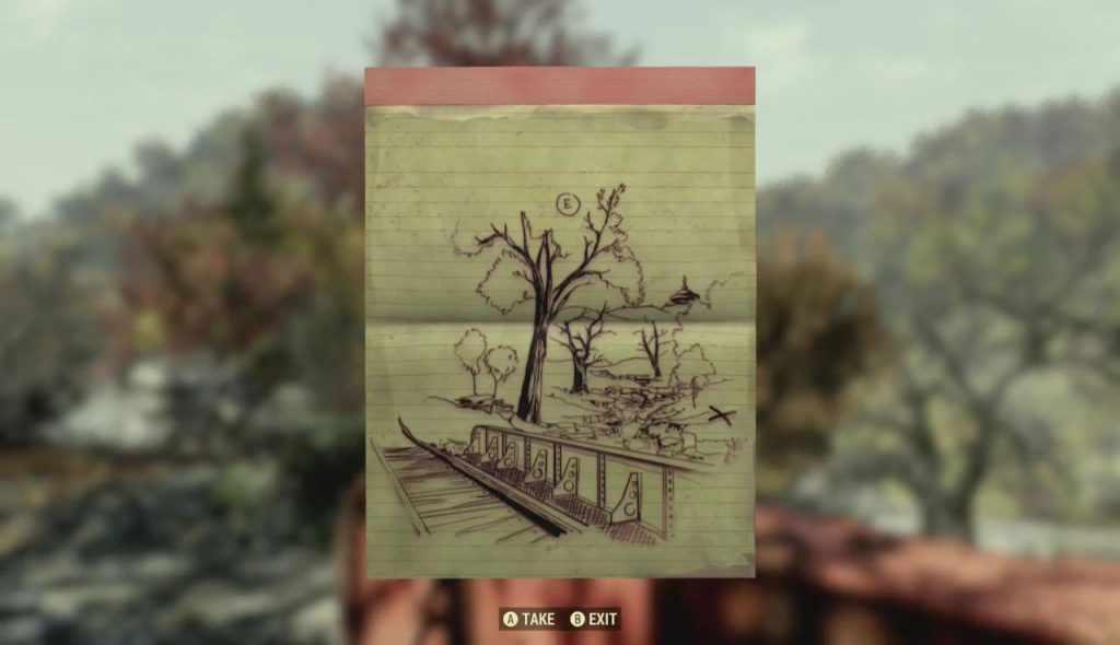 fallout 76 dove trovare il tesoro della mappa della foresta 08