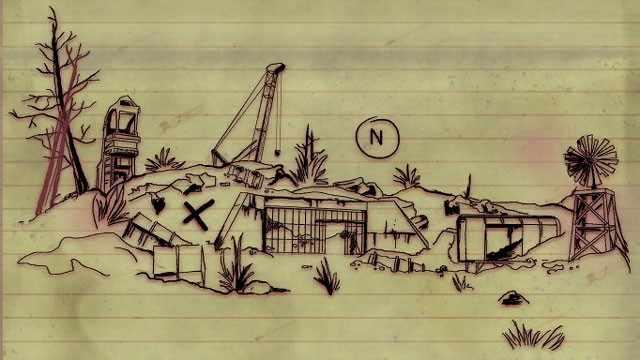 fallout 76 come trovare il tesoro della mappa di Ash Heap 01