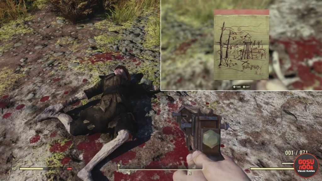 fallout 76 come trovare il tesoro della mappa di toxic valley 02