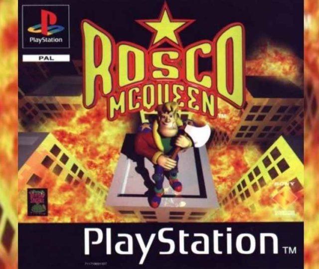 Rosco McQueen, videogioco d'azione per Playstation del 1997