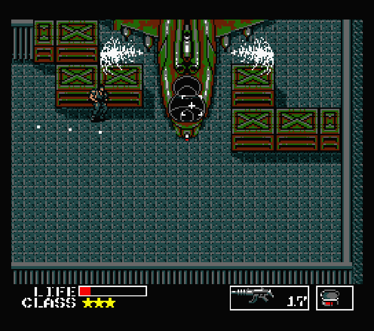 Screenshot Metal Gear msx