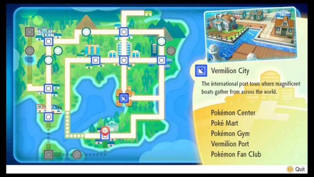 ottenere Squirtle in Pokemon Let's Go